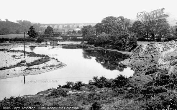 Bishop Auckland, Dam Head And River Wear 1923