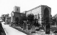 Bishop Auckland, St Andrew's Church 1898