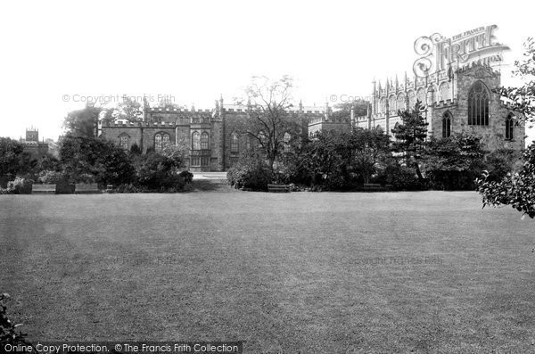 Bishop Auckland, The Castle And Chapel 1892