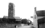 Bishop's Hull, Church And New Inn 1888