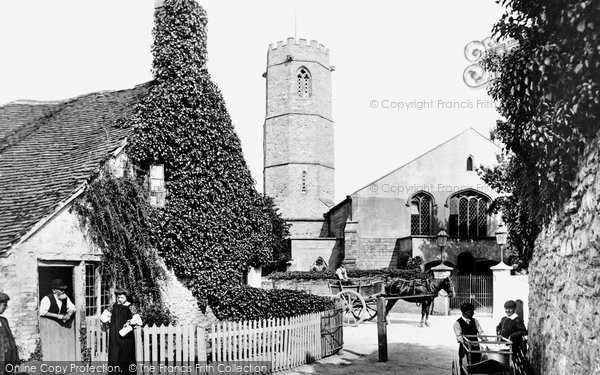 Bishop's Hull, The Church Of St Peter And St Paul 1906