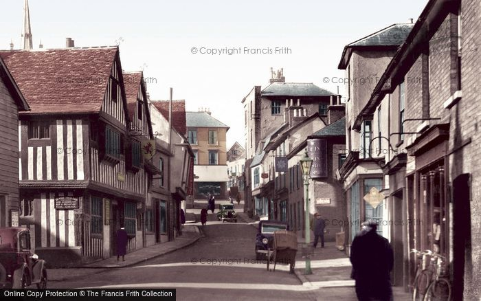 Bishop's Stortford, Bridge Street 1934