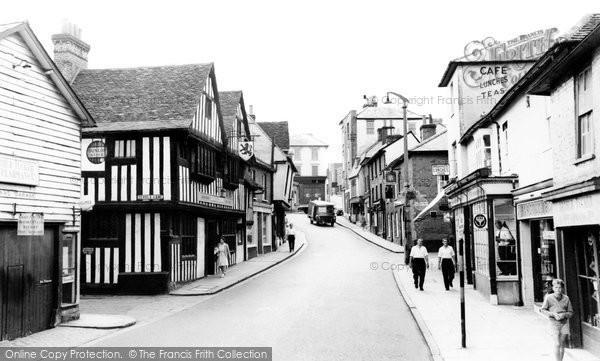 Bishop's Stortford, Bridge Street c.1965