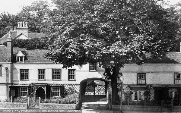 Bishop's Stortford, Chantry Gate 1899