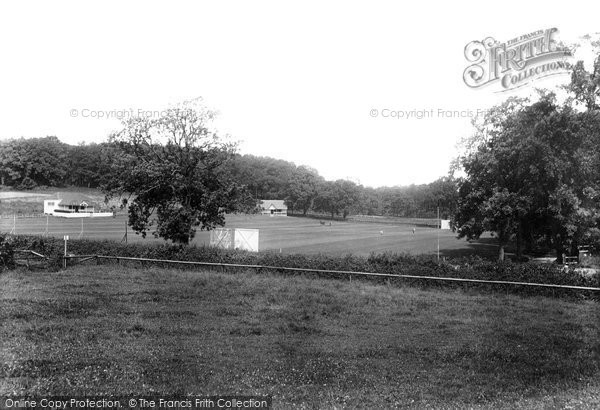 Bishop's Stortford, Cricket Field 1903