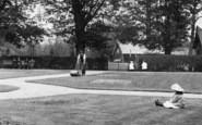 Bishop's Stortford, Gardener, The Recreation Ground 1909