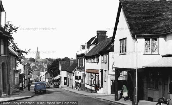 Bishop's Stortford, Hockerill Street c.1955