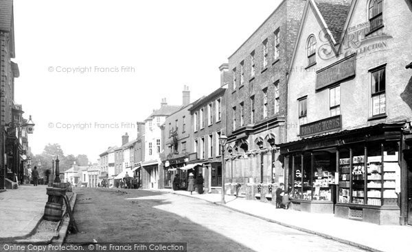 Bishop's Stortford, North Street 1899