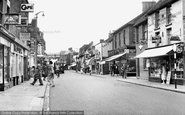 Bishop's Stortford, South Street c.1955