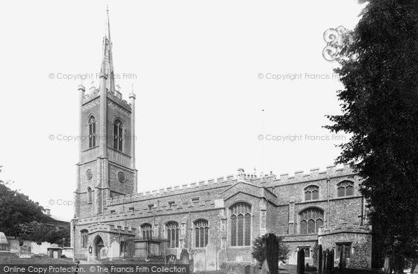 Bishop's Stortford, St Michael's Church 1899