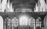 Bishop's Stortford, St Michael's Church Screen 1899