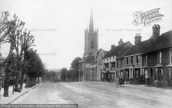 Bishop's Stortford, Windhill 1909