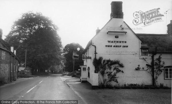 Bishop's Sutton, The Ship Inn c.1960