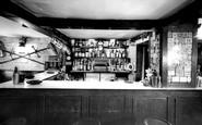 Bishop's Waltham, The Crown Inn, The Armoury Bar c.1955