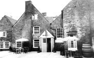 Bishop's Waltham, The Crown Inn, The Armoury Bar Courtyard c.1960