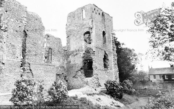 Bishop's Waltham, The Palace Ruins c.1955