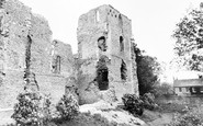 Bishop's Waltham, the Palace Ruins c1955