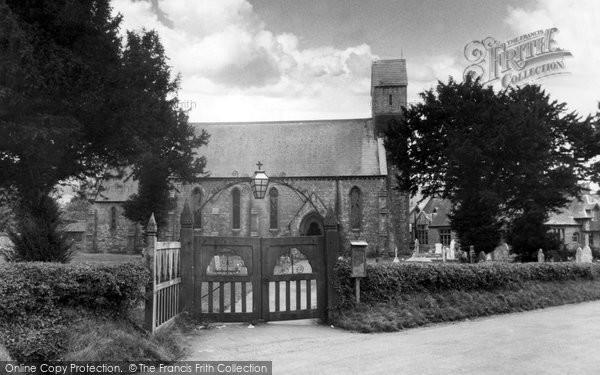 Bishop Sutton, Holy Trinity Church c.1955