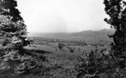 Bishops Castle, Church Stoke Valley From Banks Head c.1950