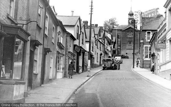 Bishops Castle, High Street c.1955