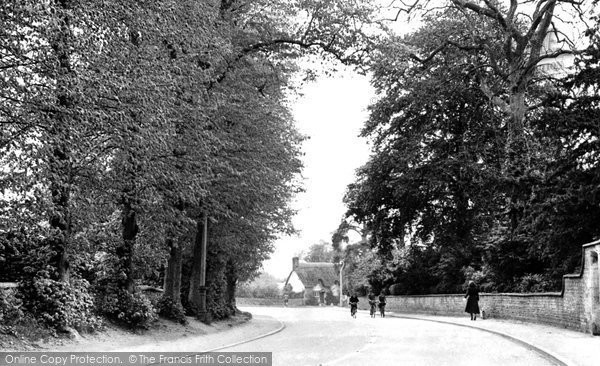 Bishops Cleeve, Cheltenham Road c.1960