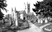 Bishops Cleeve, St Michael's And All Angel's Church c.1955
