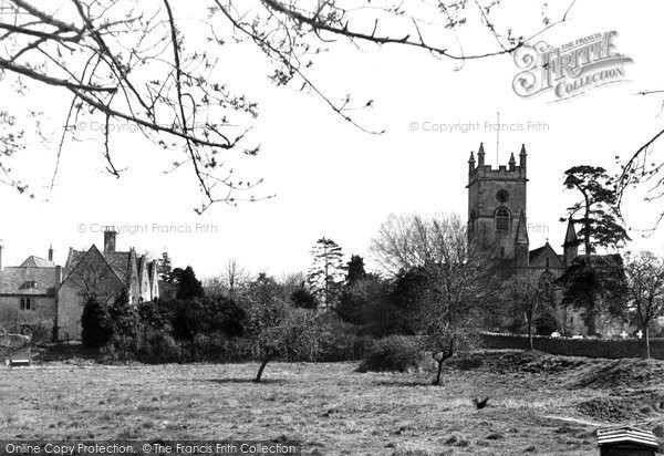 Bishops Cleeve, St Michael's And All Angels Church And Priory c.1955