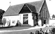 Bishops Cleeve, the Tithe Barn c1960