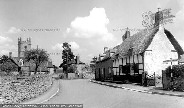 Bishops Cleeve, The Village c.1955