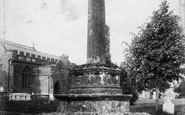 Bishops Lydeard, Ancient Cross 1906