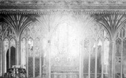 Bishops Lydeard, Church Interior 1906