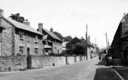 Bishops Lydeard, High Street c.1955