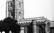 Bishops Lydeard, St Mary's Church c.1955