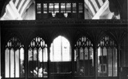 Bishops Lydeard, St Mary's Church Interior c.1960