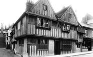 Bishops Stortford, Black Lion Hotel 1899