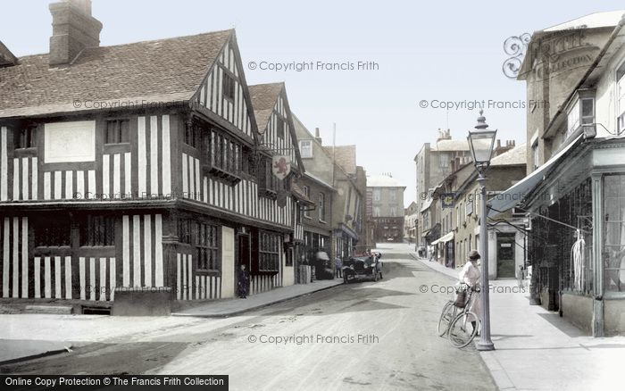 Bishops Stortford, Bridge Street 1922