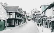 Bishops Stortford, Bridge Street c.1965