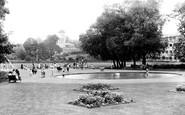 Bishops Stortford, Castle Gardens, Childrens Playground c.1955