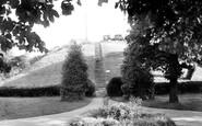 Bishops Stortford, Castle Mound c.1955