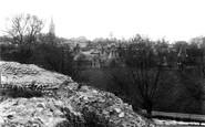 Bishops Stortford, From The Castle Mound 1909