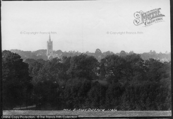 Bishops Stortford, From The East 1899