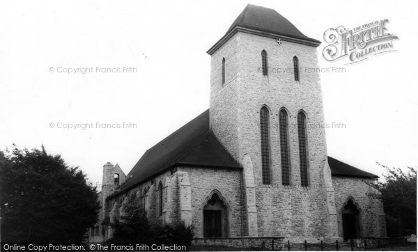 Bishops Stortford, Hockerill, All Saint's Church c.1965
