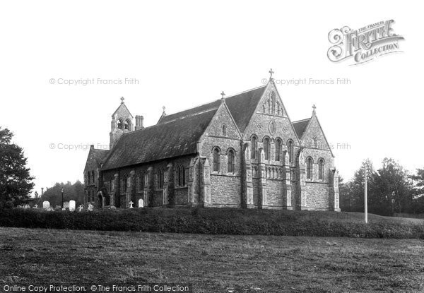 Bishops Stortford, Hockerill Church 1899