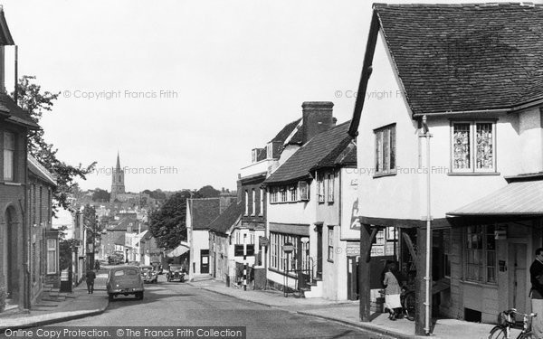 Bishops Stortford, Hockerill Street c.1955