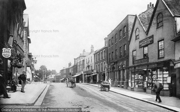 Bishops Stortford, North Street 1903