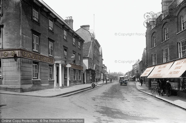 Bishops Stortford, North Street 1922