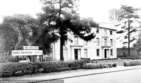Bishops Stortford, Rhodes's Birthplace c.1960