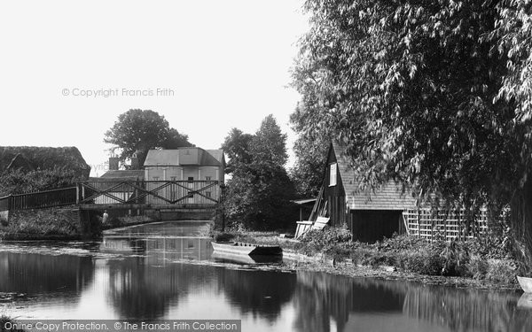 Bishops Stortford, River Stort 1899