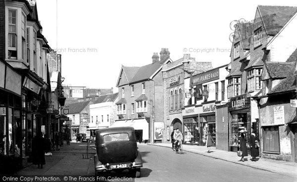 Bishops Stortford, South Street 1934