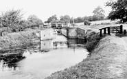 Bishops Stortford, Southmill Lock c.1955